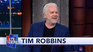 "Tim Robbins Quizzes Stephen About ""The Shawshank Redemption,"" A Movie Stephen Has Never Seen thumbnail"