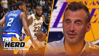 Doug Gottlieb reacts to the NBA's proposal to return to play | THE HERD