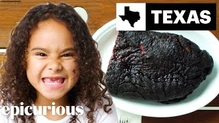 Kids Try BBQ From 10 States