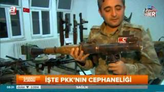 İşte PKK'nın cephaneliği