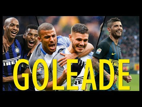 Le Goleade più belle dell'Inter • Le partite dal 2013 al 2018