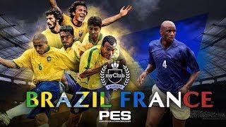 PES 2018 MyClub - BRAZILIAN LEGENDS & VIEIRA - Copa e Ball opening - Video Youtube