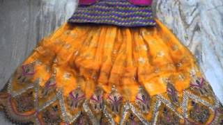 exclusive langa blouse designs for kids by Indira Ch