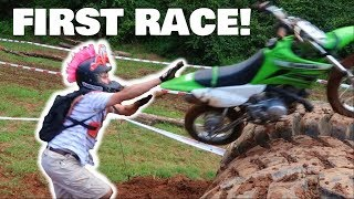 ENTERING MY PITBIKE INTO A EXTREME ENDURO!