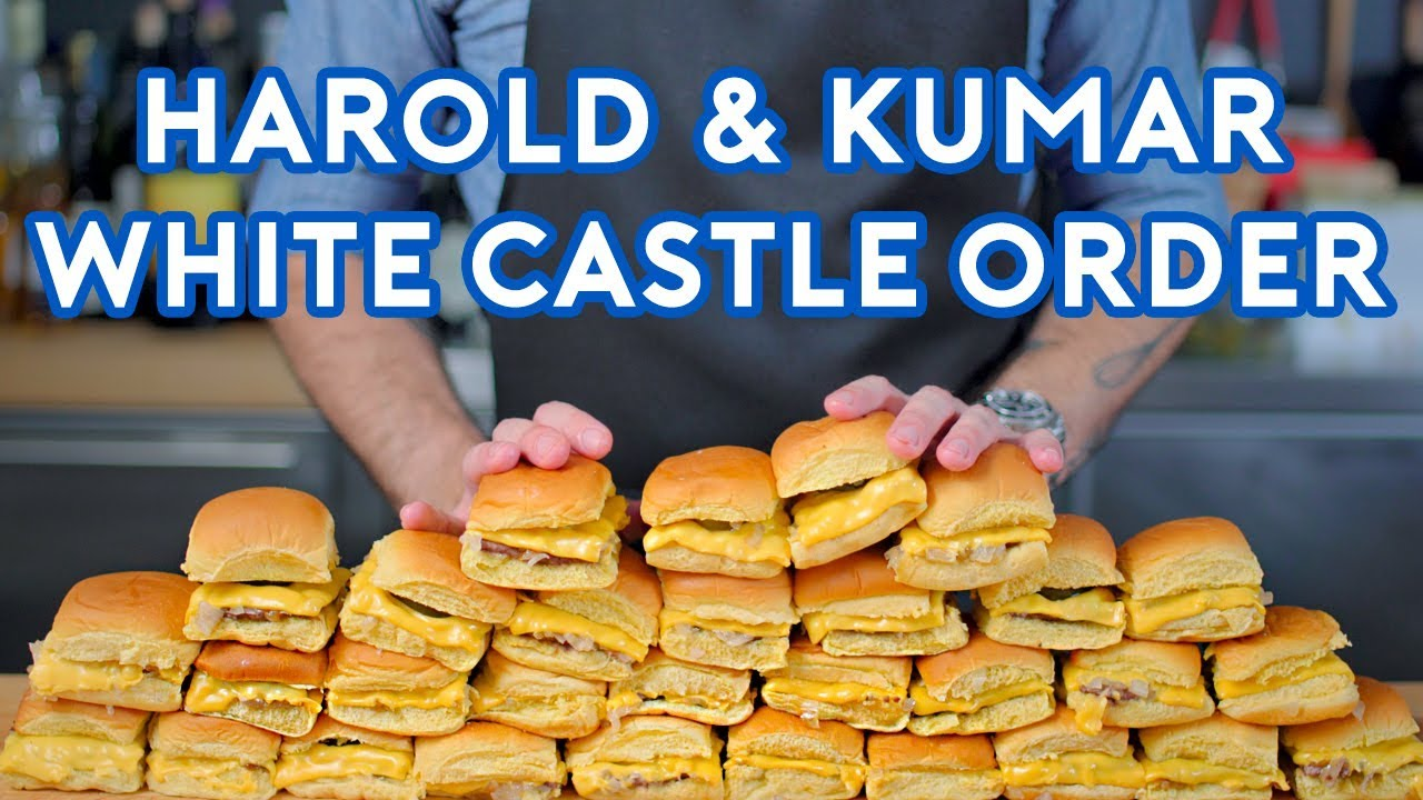 Binging with Babish: White Castle Order from Harold & Kumar Screenshot Download