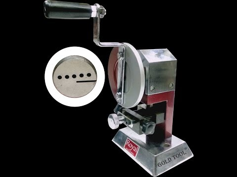 Gold Tool Royal Rava Cutter For Cutting Rava & Tar