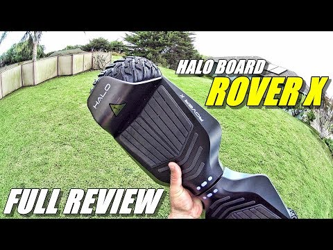 HALO BOARD ROVER X Hoverboard Review – (Street, Hill, Grass, Ride Test)