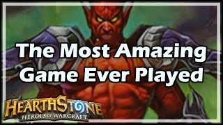 [Hearthstone] The Most Amazing Game Ever Played