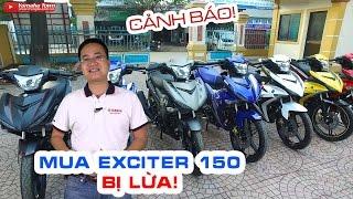 """Mua Exciter 150 Đen nhám bị lừa ▶ """"Treo đầu dê, bán thịt chó"""""""