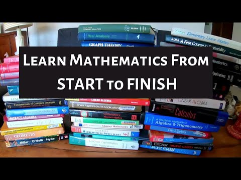 Learn Mathematics from START to FINISH