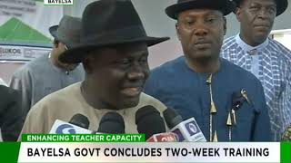 Enhancing Teacher's Capacity   Bayelsa Government concludes two-week training