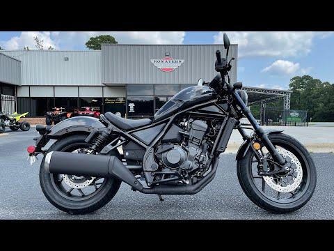2021 Honda Rebel 1100 in Greenville, North Carolina - Video 1