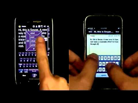 Swype Vs QWERTY: FIGHT!!!!!