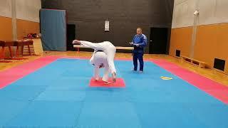 2020.10.06 – Zkouška na žlutý pásek – Šárka Kolcunová, Matěj Kráčmar