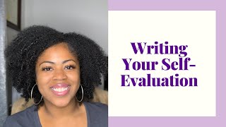 How to Write Your Employee Evaluation