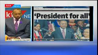 President for all, Uhuru begins his second term, Press Review