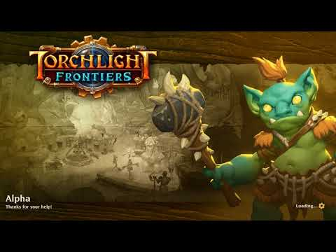 Let's Play Torchlight Frontiers Alpha