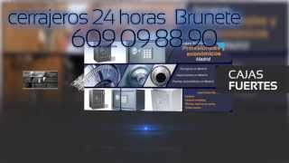 preview picture of video 'CERRAJEROS BRUNETE, 609098890, cerrajeros 24 HORAS BRUNETE, CERRAJEROS BARATOS BRUNETE'