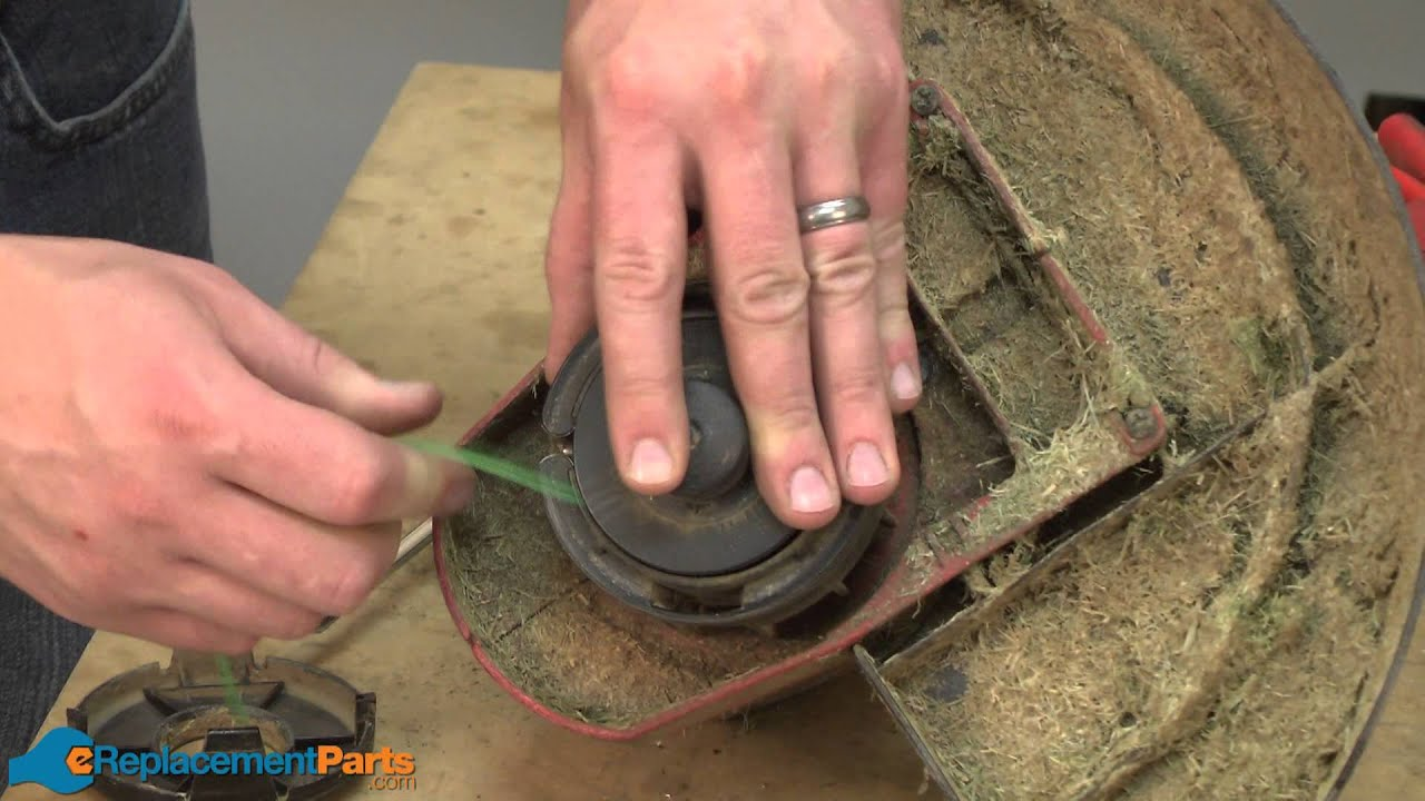 Replacing your Toro Trimmer Spool-Large