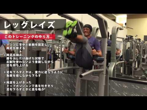 腹筋、股関節、下半身を鍛えるならこれ!レッグレイズ