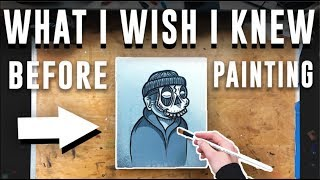 Watch this Before You Start PAINTING