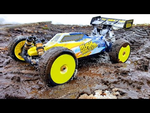 RC Car 4x4 Jumping, Racing, Durability Test — Thunder Tiger BUSHMASTER 8E 4WD BUGGY