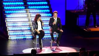 Donny & Marie Osmond Performing Make The World Go Away