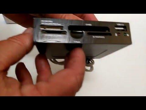 LECTOR DE TARJETAS 5 EN 1 SD SDHC SDXC MMC Micro SD T-Flash M2 MS CF USB 2.0