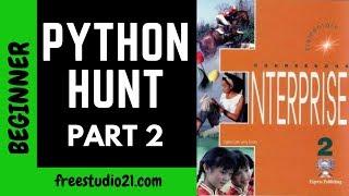 Enterprise 2   SB   The Python Hunt -2