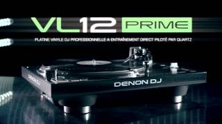 Denon Dj VL12 Prime - Video