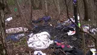 River Tame Fly-Tipping Behind Asda Ashton Under Lyne by Roy West