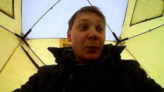 Зимняя ловля. Тест экшен камеры Akaso Ek 7000. Вышневолоцкое вдх.