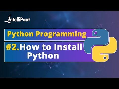 Installing Python Tutorial