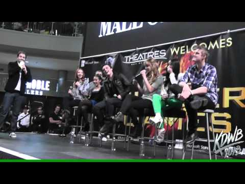 101.3 KDWB Interviews The Hunger Games Cast at Mall of America