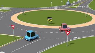 How to yield, enter and exit when using a roundabout