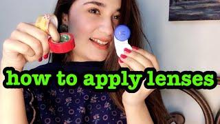 How To Wear Eye Lens - Types Of Lens!!!
