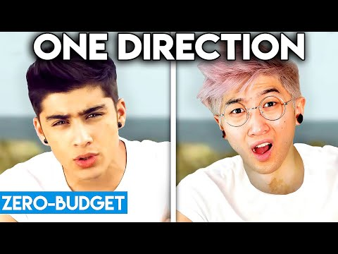 ONE DIRECTION WITH ZERO BUDGET! (What Makes You Beautiful PARODY)