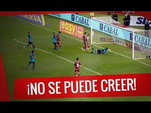 Increíble chance desperdiciada por Andrade