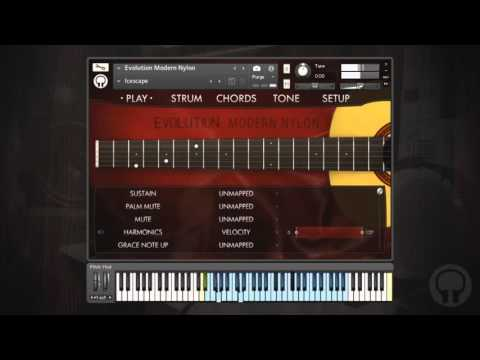 Video for Evolution Modern Nylon - Factory Preset Walkthrough