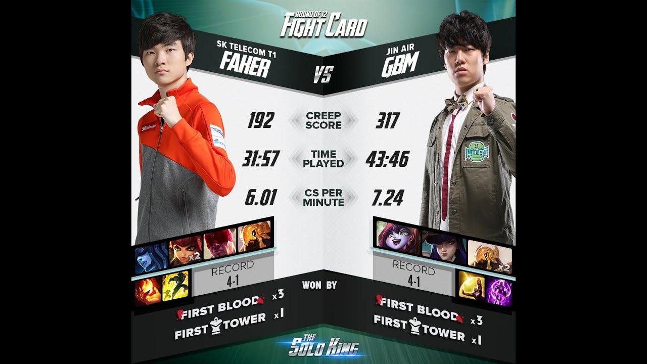 LMHT: Faker thất thủ tại The Solo King 1v1 Hàn Quốc – Game 2