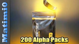 Opening 200 Alpha Packs - Rainbow Six Siege