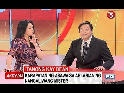 Itanong kay Dean | Karapatan ng misis sa ari-arian ng nangaliwang mister