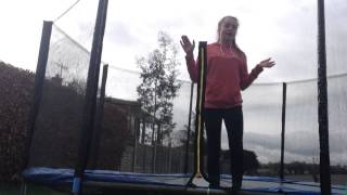 HOW TO DO A BACK HANDSPRING ON THE TRAMPOLINE | FAST AND EASY BACK HANDSPRING TUTORIAL!
