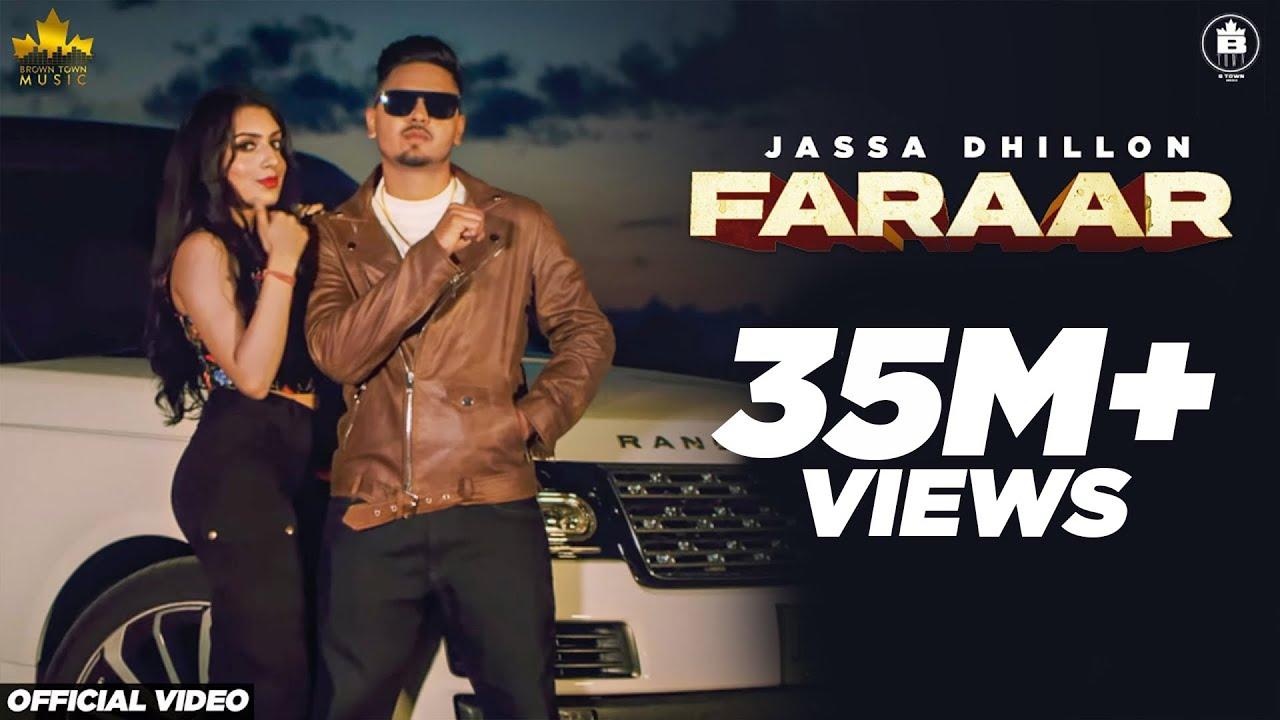 Faraar (Official Video) Jassa Dhillon | Gur Sidhu | New Punjabi Song 2020 | Brown Town Music| Jassa Dhillon Lyrics