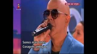 Pedro Abrunhosa - Somos Portugal (Tudo o Que eu Te Dou) (com letra)