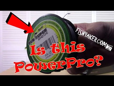 Super Cheap Rebranded PowerPro Braid Fishing Line?: Episode 435