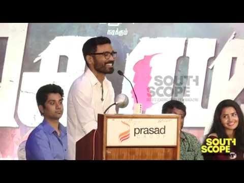 Dhanush thanks Vetri Maran for being a good friend