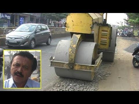 खड्डे बुजवण्याचा ग्राऊंड रिपोर्ट, बार्शी रोड