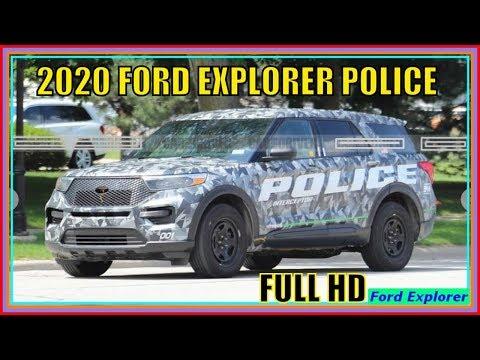 Ford Explorer 2020 Platinum Police Interceptor Hybrid Review And