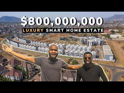 , title : 'How a Nigerian built an $800,000,000 Luxury Estate in Abuja Nigeria.
